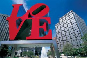 philadelphia love sign